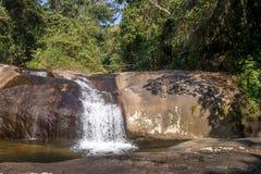 Cachoeira da Toca Waterfall - Ilhabela, Sao Paulo, Brazil. Cachoeira da Toca Waterfall in Ilhabela, Sao Paulo, Brazil Royalty Free Stock Photos
