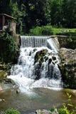 Cachoeira das fontes dos les de Sant Joana Imagens de Stock Royalty Free