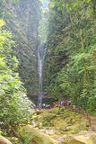 Cachoeira de Ahuashiyacu Fotografia de Stock