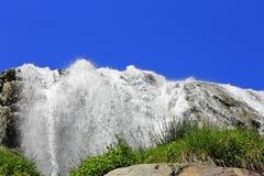 Cachoeira de Alibek Montanhas de Dombay O Caucas do norte Imagem de Stock Royalty Free