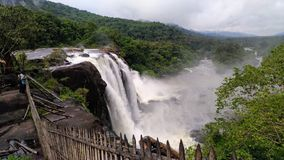 Cachoeira de Athirapally imagem de stock royalty free