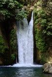 Cachoeira de Banias, Israel foto de stock royalty free