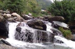 Cachoeira de Bhagsunag fotos de stock