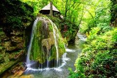 Cachoeira de Bigar, Romênia Fotos de Stock