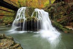 Cachoeira de Bigar, Romênia Fotografia de Stock Royalty Free