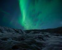Cachoeira de Bruarfoss, Islândia Imagens de Stock Royalty Free
