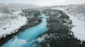 Cachoeira de Bruarfoss, Reykjavik, Islândia filme