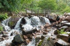 Cachoeira de Buttermere Fotografia de Stock