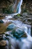 Cachoeira de Caledonia Viilage de Platres Distrito de Limassol, Chipre foto de stock royalty free