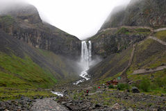 Cachoeira de Changbai Foto de Stock Royalty Free