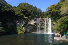 Cachoeira de Cheonjiyeon Imagem de Stock Royalty Free