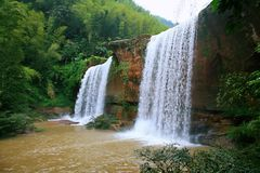 Cachoeira de Chishui foto de stock