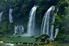 Cachoeira de DeTian Imagem de Stock Royalty Free