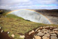 Cachoeira de Dettifoss Foto de Stock Royalty Free