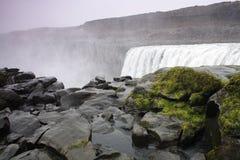 Cachoeira de Dettifoss Imagem de Stock
