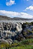 Cachoeira de Dettifoss, Islândia Imagens de Stock Royalty Free