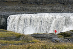 Cachoeira de Dettifoss - Jokulsargljufur - Islândia Fotografia de Stock Royalty Free
