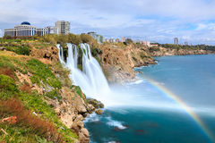 Cachoeira de Duden em Antalya Imagens de Stock Royalty Free