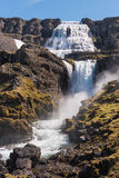 Cachoeira de Dynjandi Imagem de Stock Royalty Free