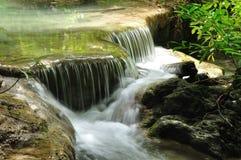 Cachoeira de Eravan, Kanchanabury, Tailândia Fotografia de Stock Royalty Free