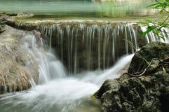 Cachoeira de Eravan, Kanchanabury, Tailândia Imagens de Stock Royalty Free