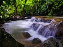 Cachoeira de Erawan Imagens de Stock Royalty Free