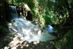 Cachoeira de Erawan, Kanchanaburi, Tailândia Imagens de Stock Royalty Free