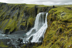 Cachoeira de Fagrifoss Imagem de Stock