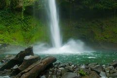 Cachoeira de Fortuna do La imagem de stock
