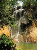 Cachoeira de Ghost situada em Brasil imagens de stock royalty free