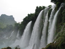 Cachoeira de Gioc da proibição, Vietnam Fotos de Stock