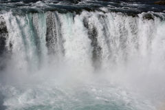 Cachoeira de Godafoss Fotografia de Stock