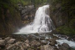 Cachoeira de Golling fotografia de stock
