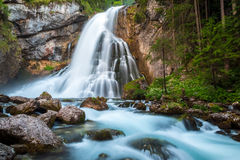 Cachoeira de Golling Imagens de Stock