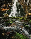 Cachoeira de Gollinger (Áustria) Fotos de Stock