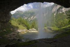 A cachoeira de Goriuda Fotos de Stock Royalty Free