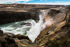 Cachoeira de Gulfoss Imagem de Stock