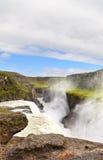 Cachoeira de Gulfoss, Islândia imagem de stock royalty free