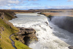 Cachoeira de Gullfoss Fotografia de Stock