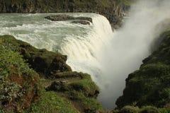 Cachoeira de Gullfoss, Islândia Fotos de Stock Royalty Free