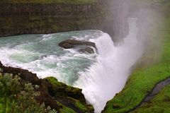 Cachoeira de Gullfoss, Isl?ndia fotos de stock royalty free
