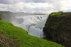Cachoeira de Gullfoss, Isl?ndia fotografia de stock royalty free