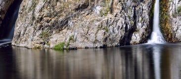 Cachoeira de Hervidero Imagens de Stock