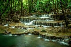 Cachoeira de Huai Mae Khamin Foto de Stock Royalty Free
