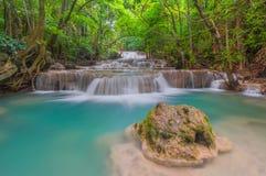 Cachoeira de Huai Mae Khamin Imagens de Stock