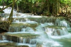 Cachoeira de Huay Mea Kamin Foto de Stock Royalty Free