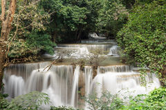 Cachoeira de Huaymaekamin, Tailândia Fotos de Stock