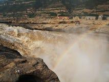 Cachoeira de Huko Foto de Stock Royalty Free