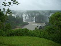 Cachoeira de Iguazu em Argentina Fotos de Stock