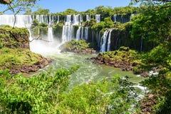 Cachoeira de Iguazu em Argentina Imagem de Stock